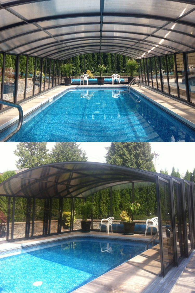 Pool Enclosure Casablanca From Albixon Pool Swimming Pool Enclosures Pool Enclosures