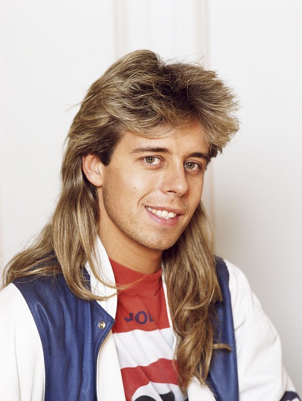 mullet haircut excellence hairstyles gallery pin on the 80 s
