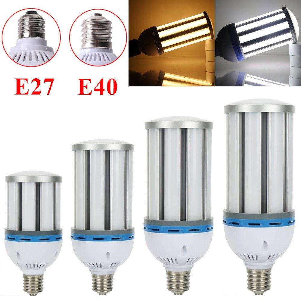 E27 E40 Led Light Corn Bulb 35w 45w 55w 65w 80w 100w 120w Replacement Lamp Street Garage Warehouse Backyard Light Fixture Lamp Light Bulb Lamp Light Bulb Bulb