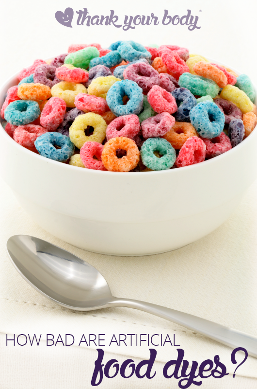 How bad is artificial food coloring?   Learning, Foods and Healthy ...