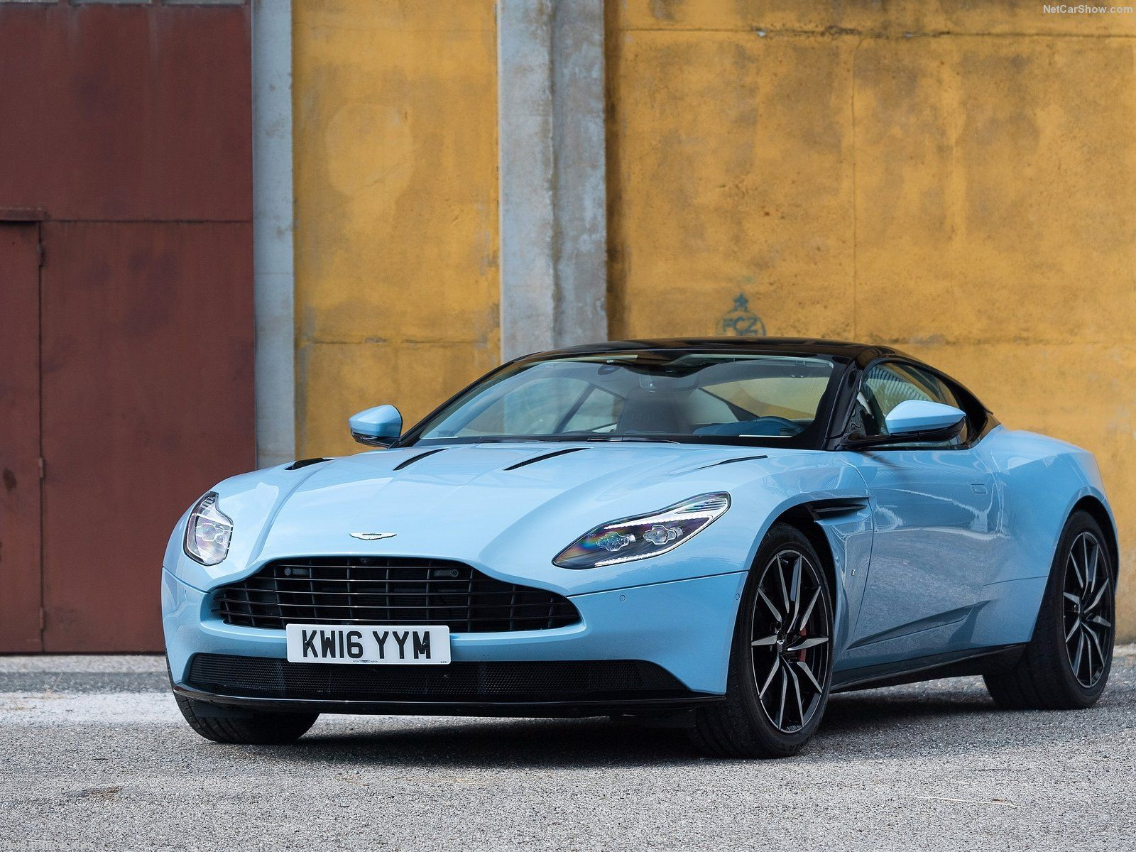 2017 aston martin db11 frosted glass blue | cars & motorcycles