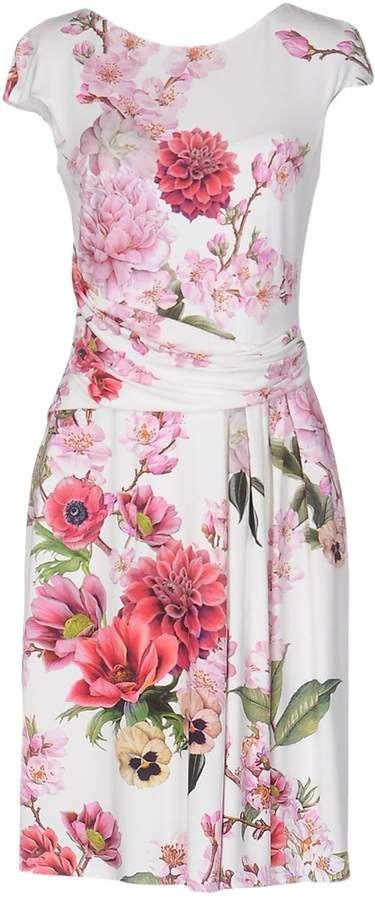 41ba6b5f3853 Vdp Collection Knee-length dresses Dress Outfits, Dammode, Söta Klänningar,  Sommarklänningar För