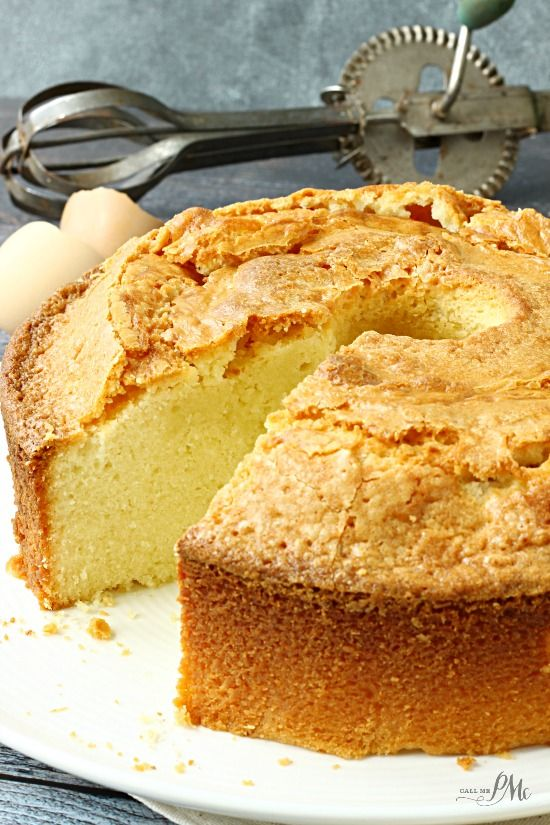 Whipping Cream Pound Cake Food Recipes Pinterest Cake Pound