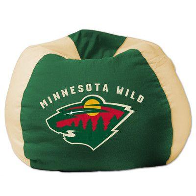 Buy Nhl Bean Bag Chair Nhl Team Minnesota Wild Minnesota Wild Hockey Minnesota Wild Wild Hockey