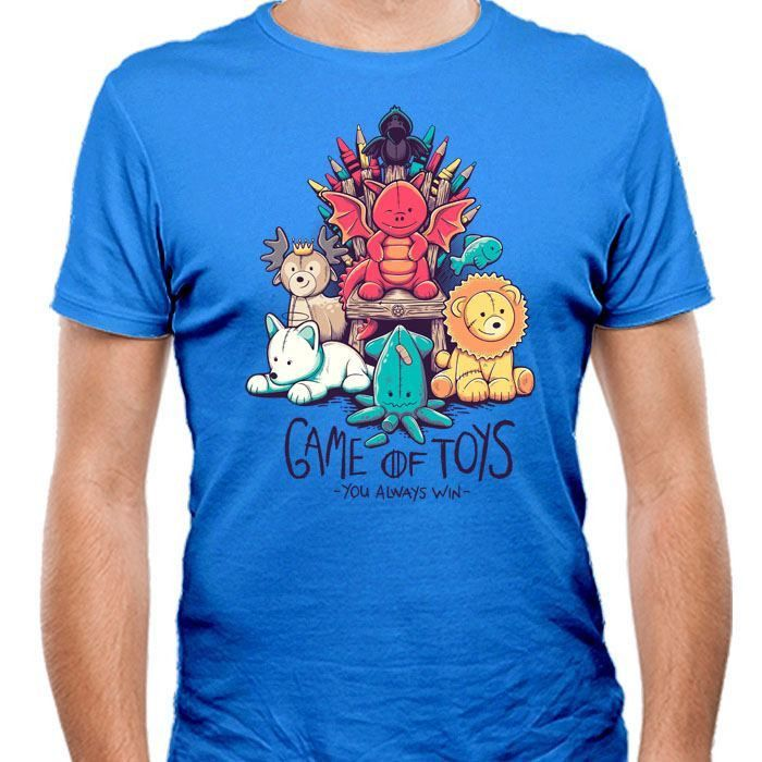 Game of Toys - Men's Fitted T-Shirt