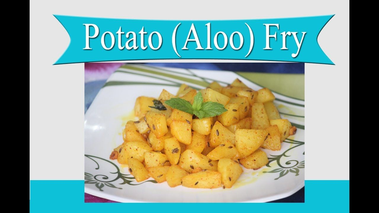 Aloo Fry Recipe-Simple Potato Fried for Lunch box-Easy and Quick Potato ...