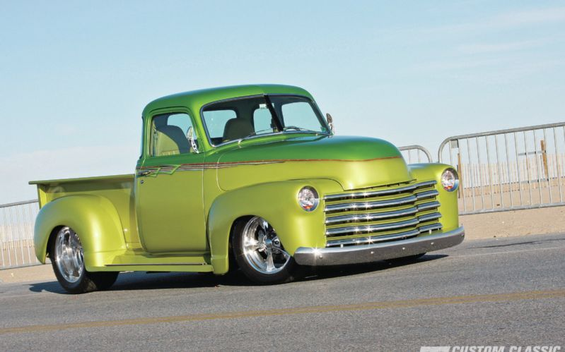 1950 Chevy Pickup Trucks Classic Truck Customization Vintage