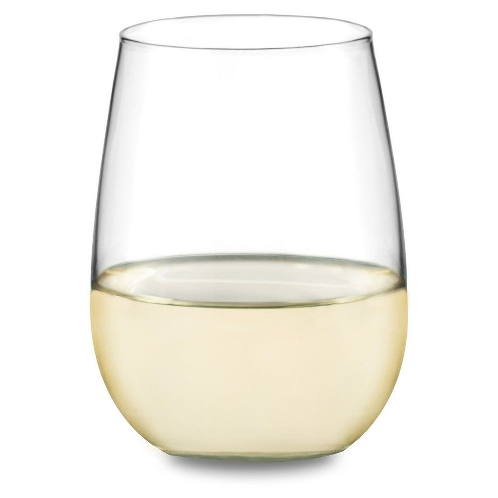 602c01225bf Libbey 12pc Stemless Red/White Wine Glasses, Clear   Products   Wine ...