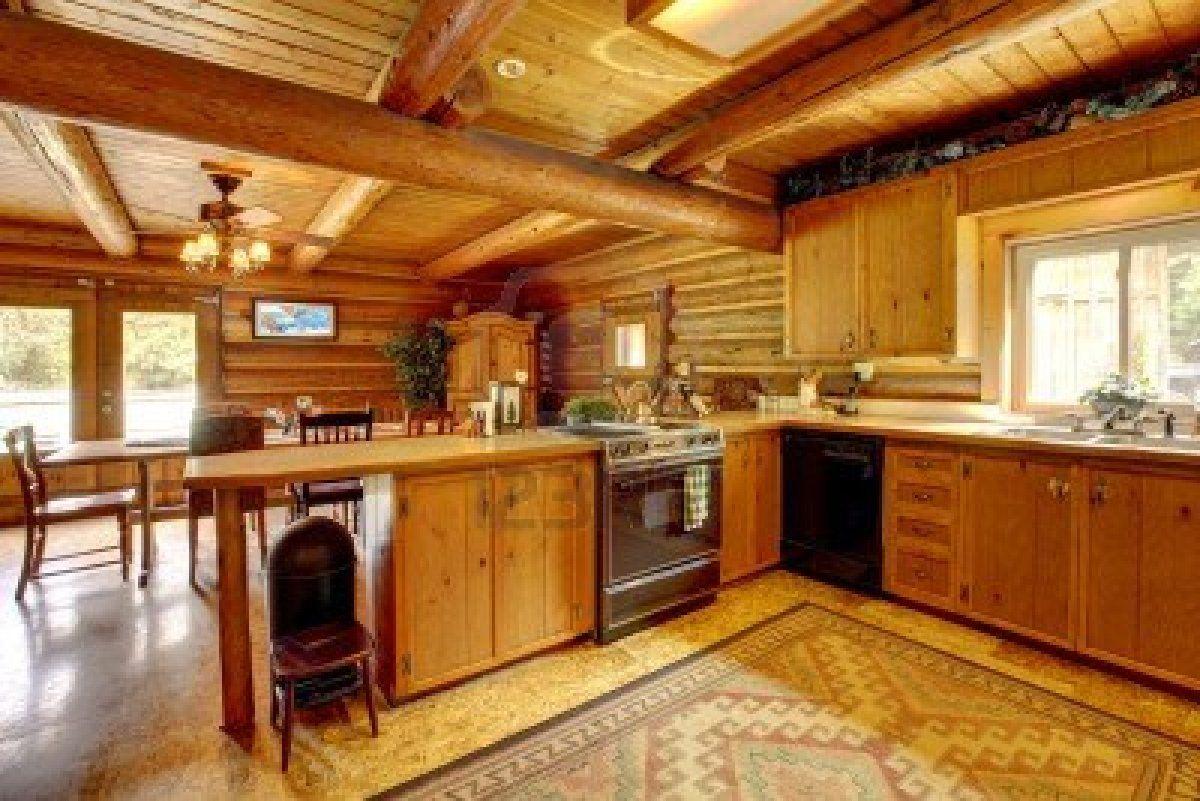 Foto modelo muebles cocina madera rustico 03 | muebles | Pinterest