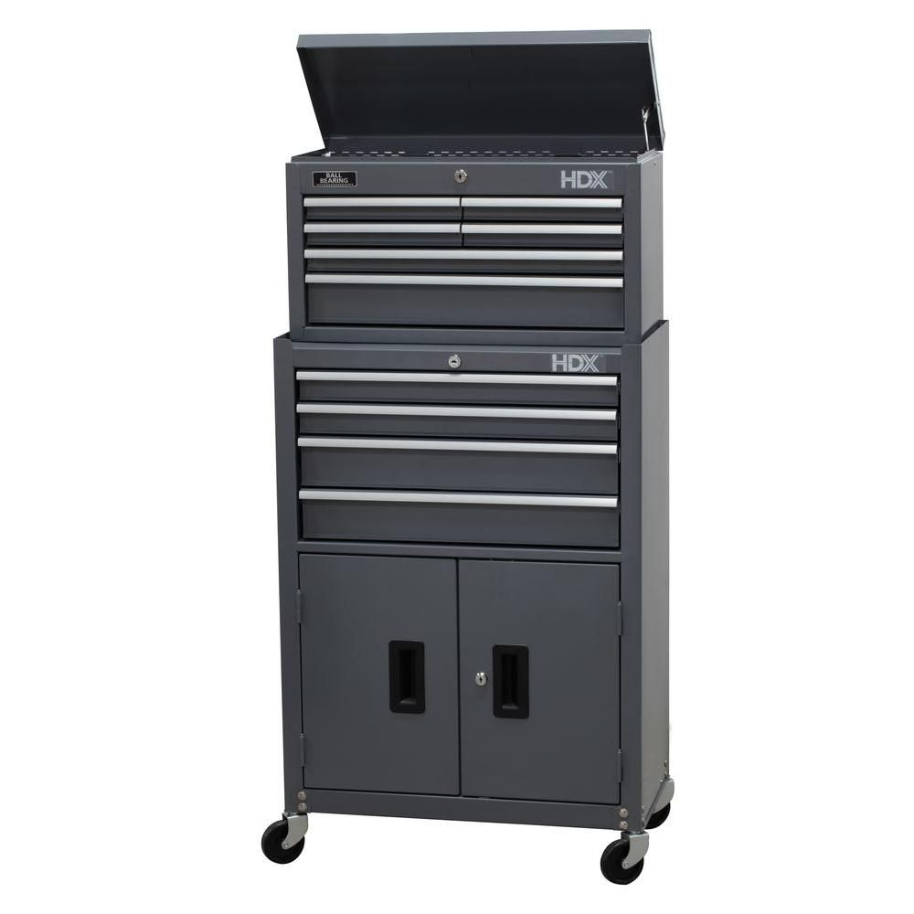Tool Chest And Rolling Cabinet Set Grey At The Home Depot Mobile