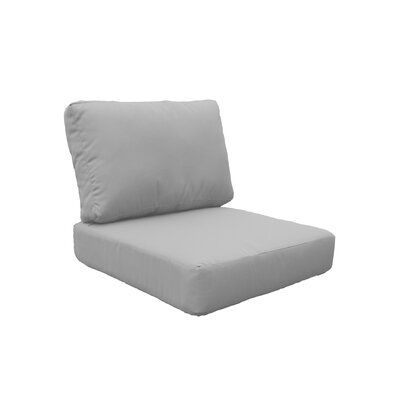 Photo of TK Classics Indoor/Outdoor Lounge Chair Cushion Fabric: Quick – Dry Foam/Acrylic in Gray, Size 17″ H x 26.5″ W x 26.5″ D | Wayfair