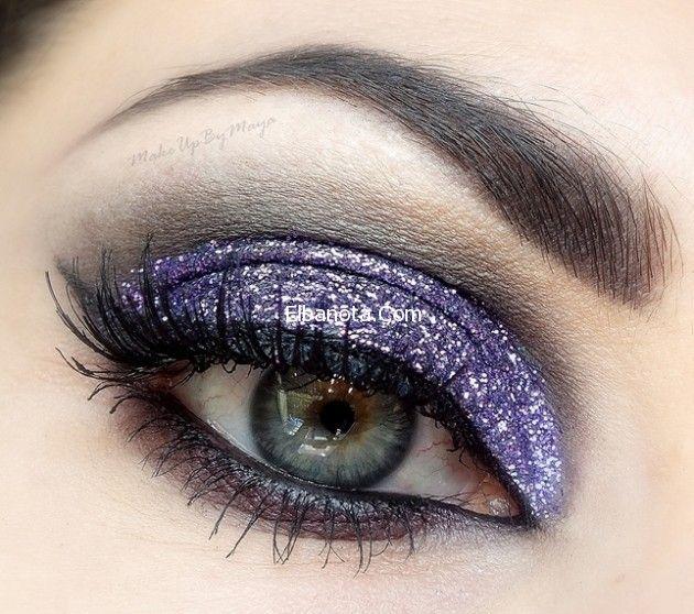 مكياج عيون ملونة مكياج عيون يجنن مكياج عيون يكبر العين Makeup For Green Eyes Smokey Eye Makeup Tutorial Smokey Eye Makeup