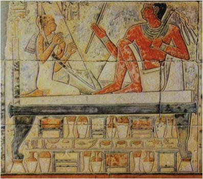 Relieve de la Tumba de Mereruka. Saqqara, reino Antiguo, VI Dinastía.