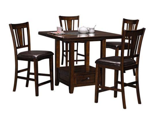 Montgomery 5 Pc Dinette Value City Furniture Furniture