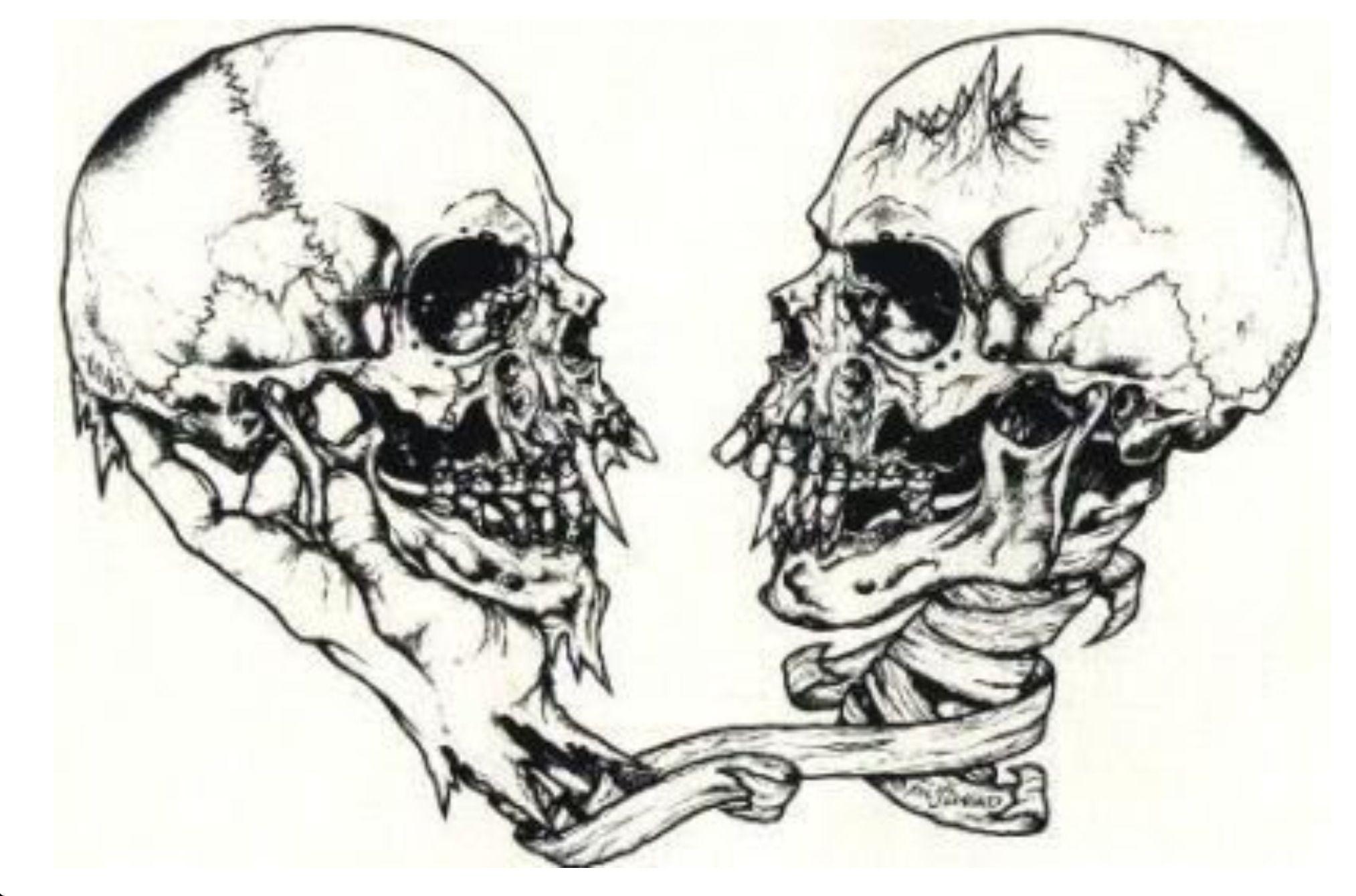 Pushead Metallica Art Skull Art Lowbrow Art