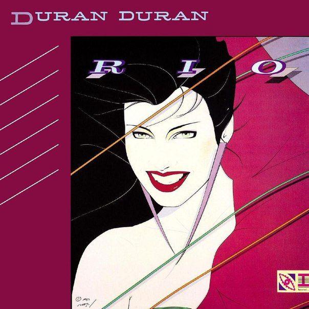 Duran Duran Rio 1982 Ilustración Por Patrick Nagel Temas Destacados My Own Way Hungr Mejores Portadas De Discos Portadas De Discos álbumes De Música