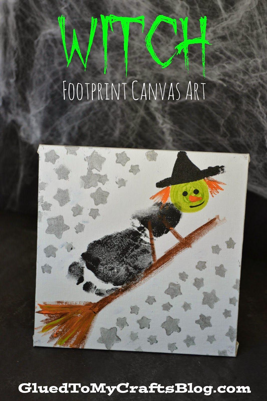 Photo of Trick or Treat Footprint Ghost Keepsake Idea For Halloween