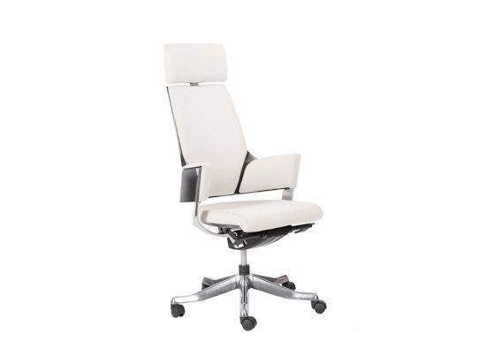 Delphi Desk Chair-Snowy Grey