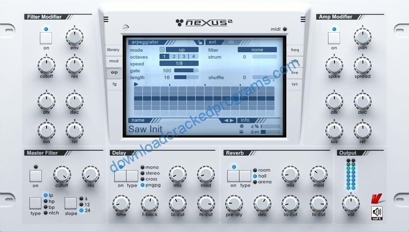 Download Cracked reFX Nexus 2 2 1 Full Software   Download