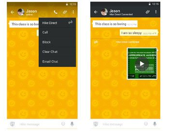 Hike messenger adds feature to operate without internet  - Read more at: http://ift.tt/1MgFz6N