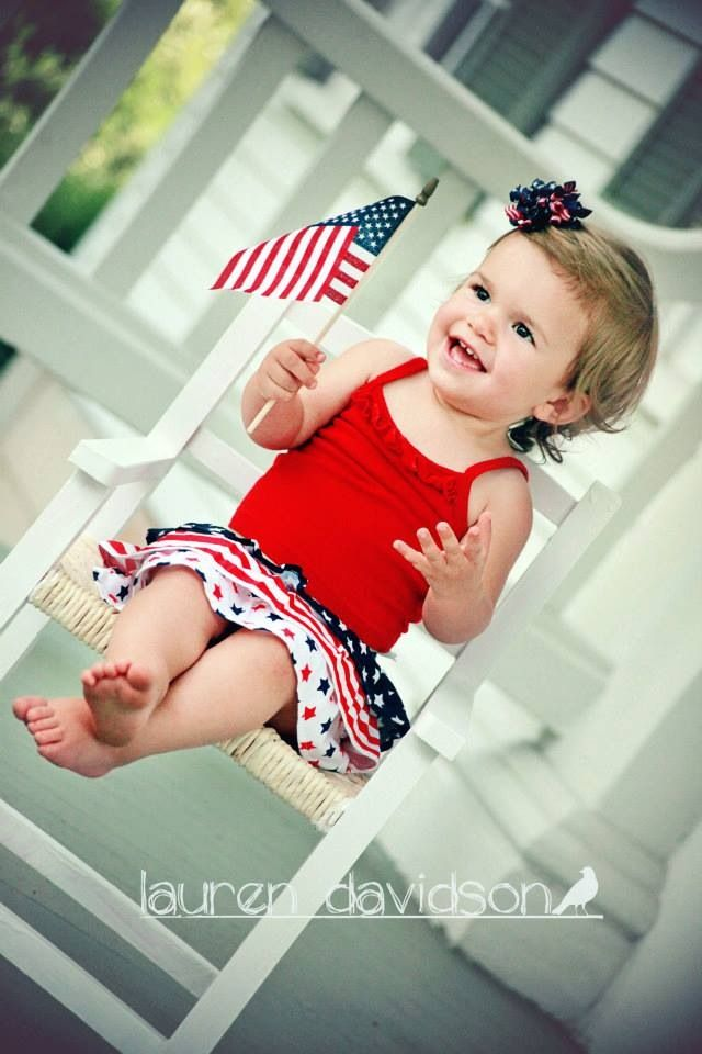 4th Of July Kids Photo Ideas Unique 1 Year Old 2