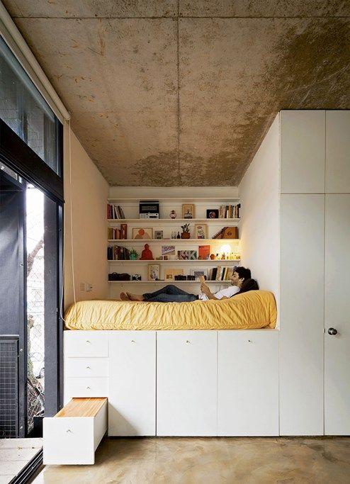 weniger quadratmeter neue ideen f r wohnen auf kleinem raum wohnen. Black Bedroom Furniture Sets. Home Design Ideas