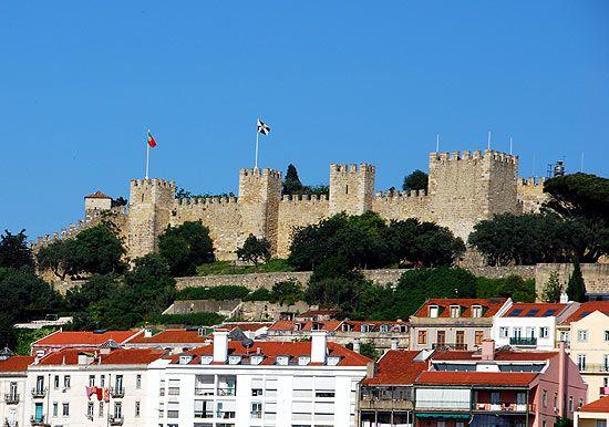 Kastell St. Georg, Sehenswürdigkeit in Lissabon