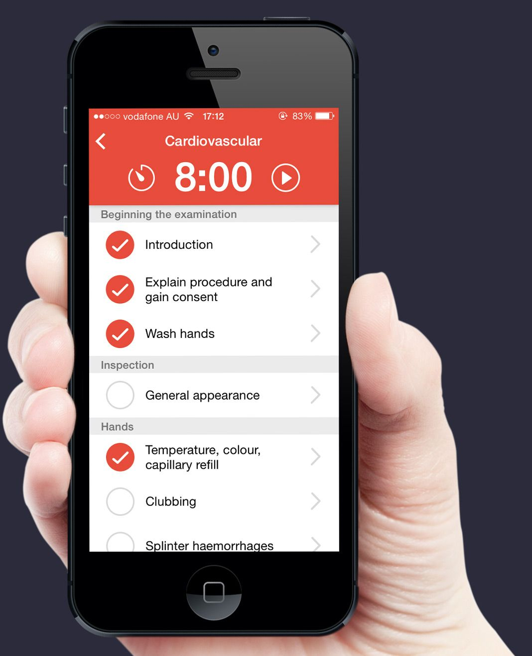 osceApp free and open source app for medical students