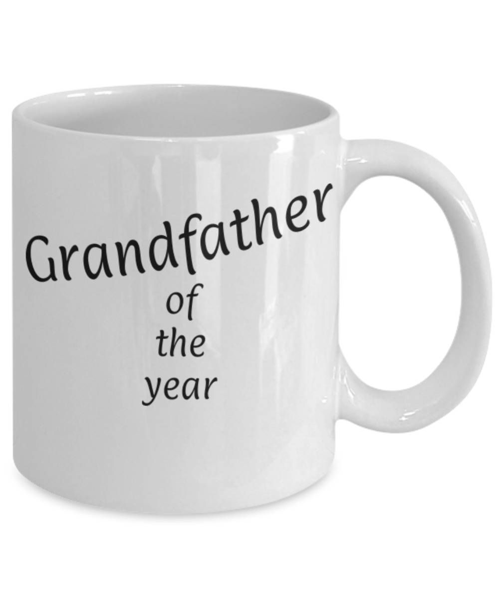 Gift for Grandfather, Grandfather of the year, Funny coffee mug ...