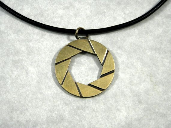 Aperture Laboratories Pendant by MarkWengryn on Etsy
