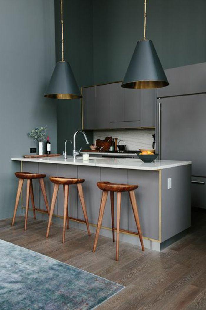 La cuisine grise, plutôt oui ou plutôt non? Cuisine, Kitchens and