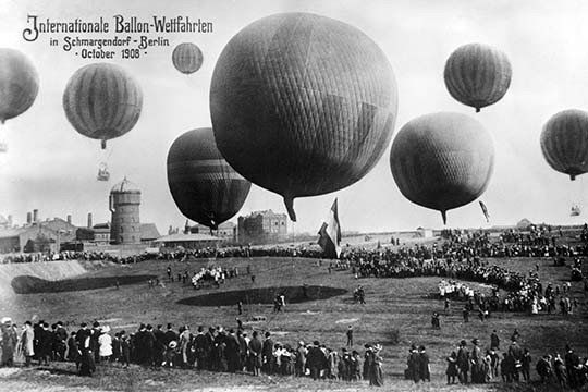 Berlin Ballon Race Photo
