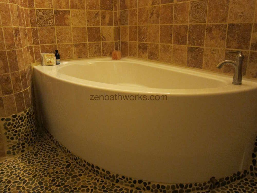 Wind Corner Bathtub Neptune Deep Soaking Ofuro Tubs Zen