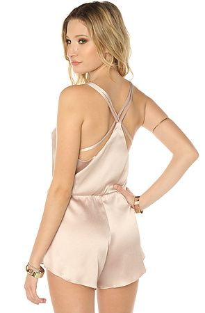 a1dbd4fafe91 The Albert Japanese Silk Romper in Misty Rose by AGAIN