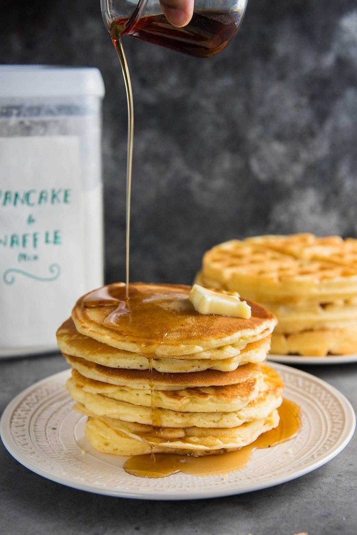 Homemade pancake mix waffle mix the best pancake or waffle mix homemade pancake mix waffle mix the best pancake or waffle mix from scratch that makes fluffy light pancakes or crispy light waffles easy and fool ccuart Gallery