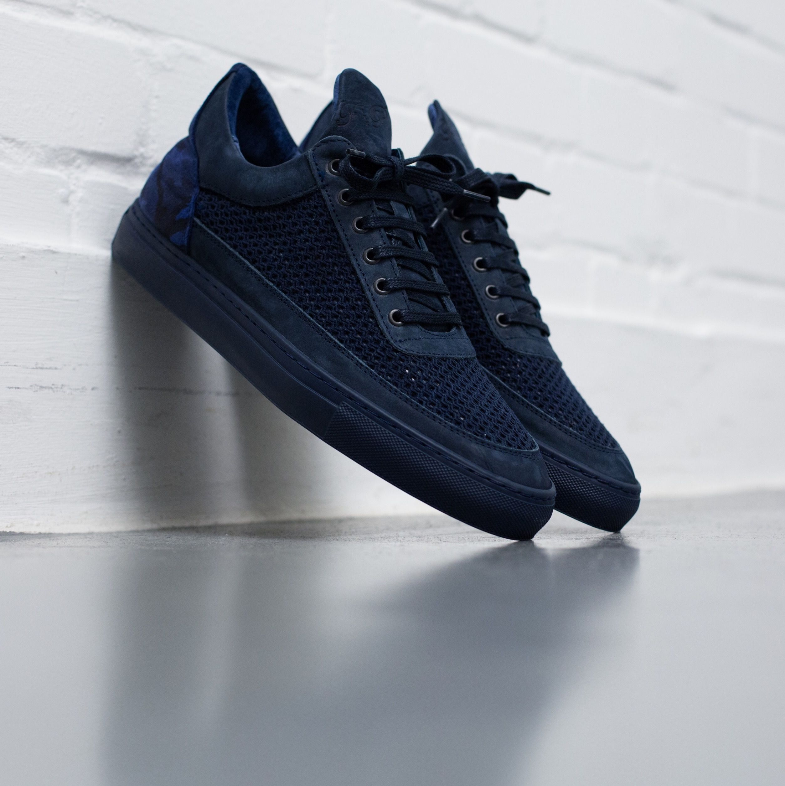 meet 60d15 07040 Filling Pieces Low Top Navy Mesh Rizkys 2.0 - 5 Year Anniversary Pack