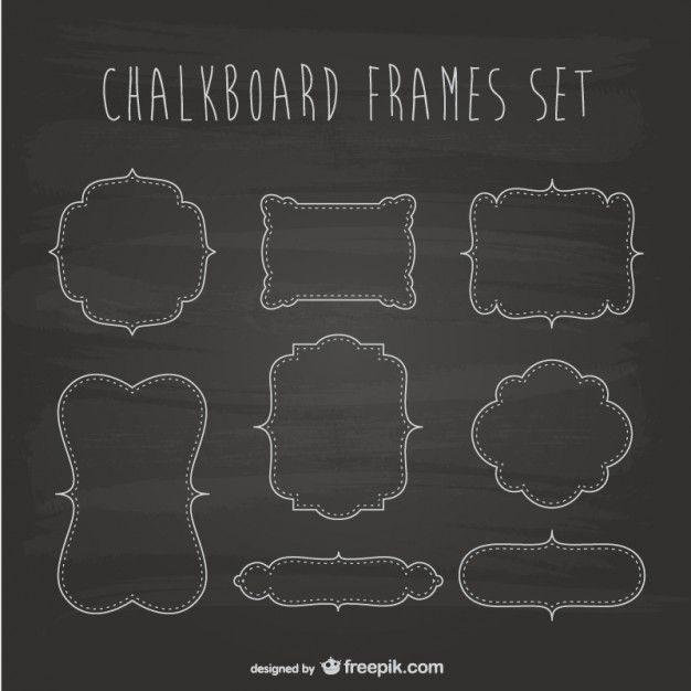 chalkboard template free