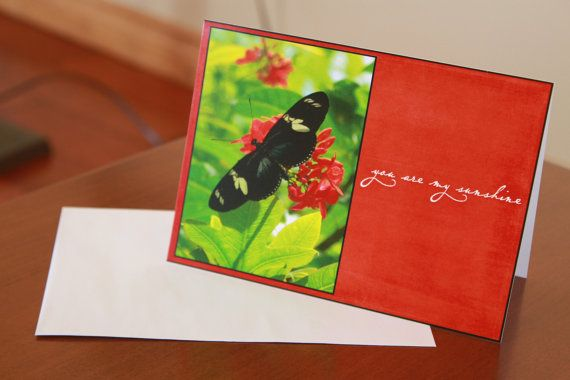 A card or perfect gift for the butterfly lover or nature lover in your life!