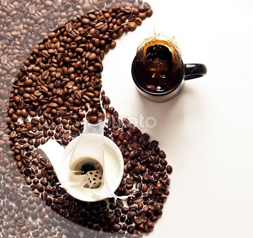 yinyang coffee Yin yang, Coffee lover, Yin