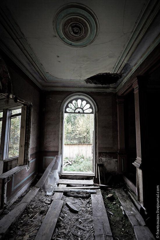 maison hantee interieur