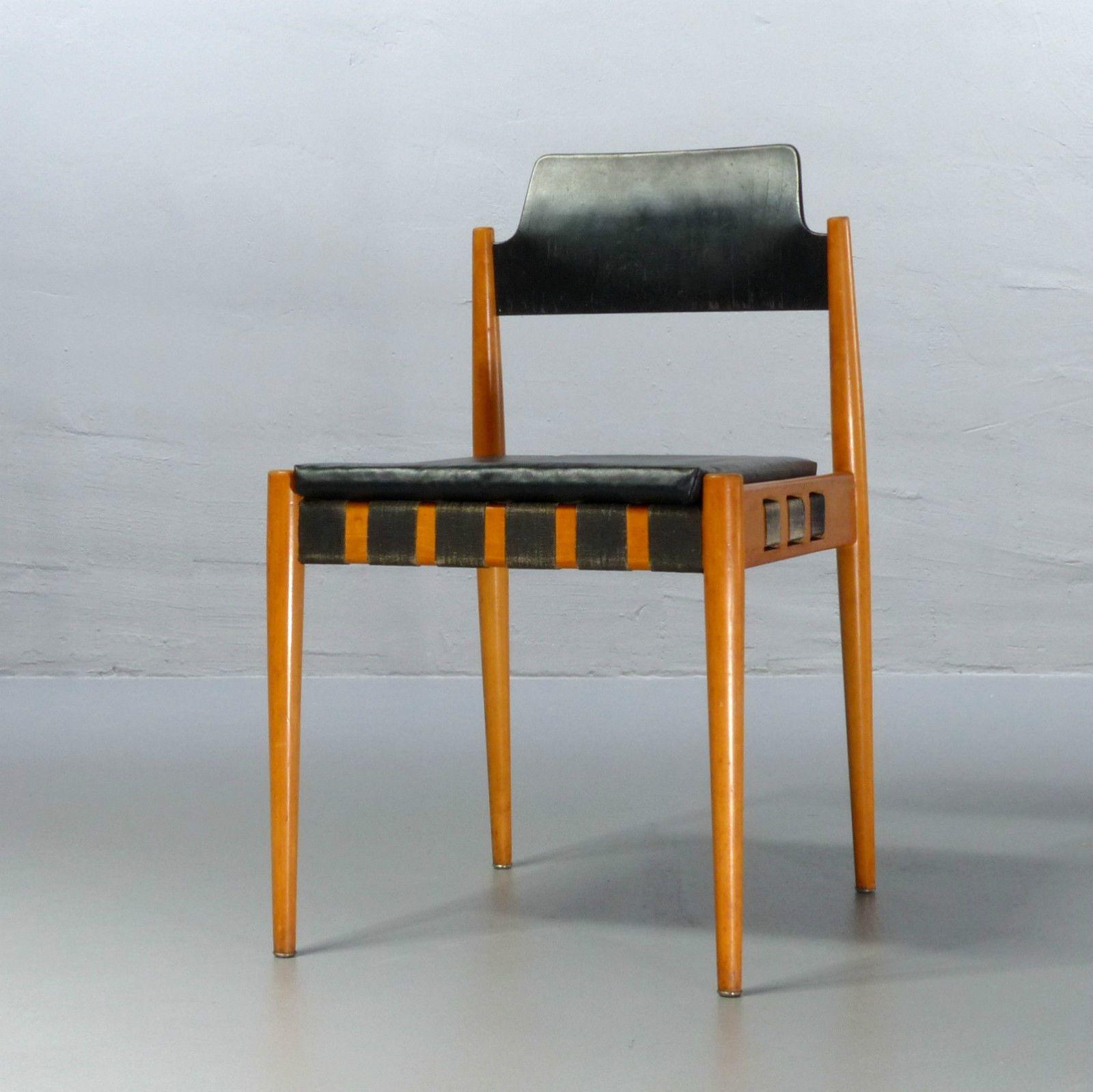 Egon Eiermann für Wilde Spieth Stuhl SE 120 Mehrzweckstuhl Design 1960 SE120