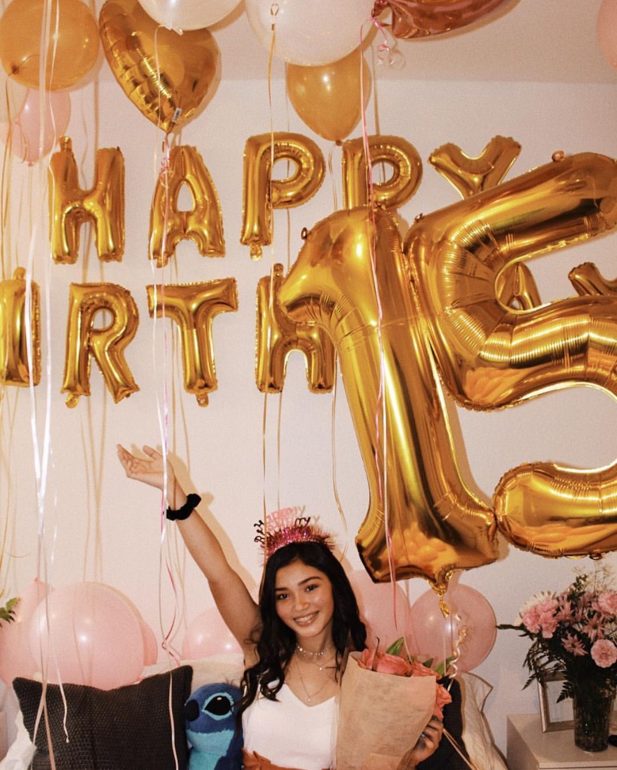 15th Birthday Pinterest Just4girls 15th Birthday Party Ideas 15th Birthday Decorations Happy 15th Birthday