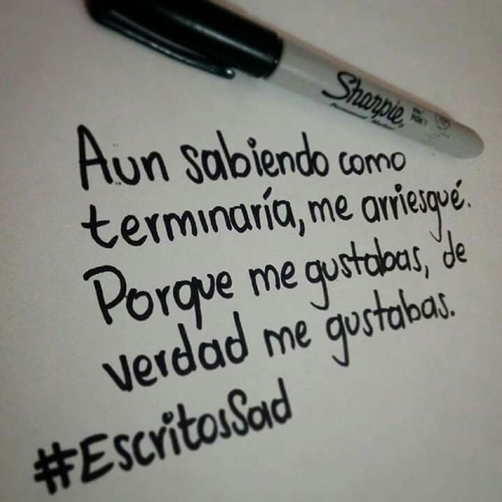Escritos sad | Frases | Pinterest | Triste