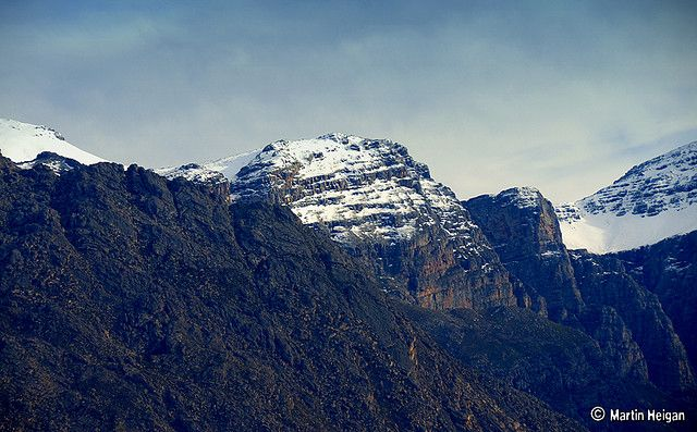 Western Cape Mountain Snow, South Africa