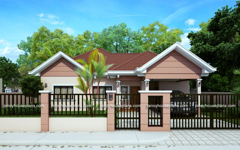Small House Plans Have The Characteristics Of Being Compact In Design Organized And Well Used Philippines House Design Philippine Houses Bungalow House Design