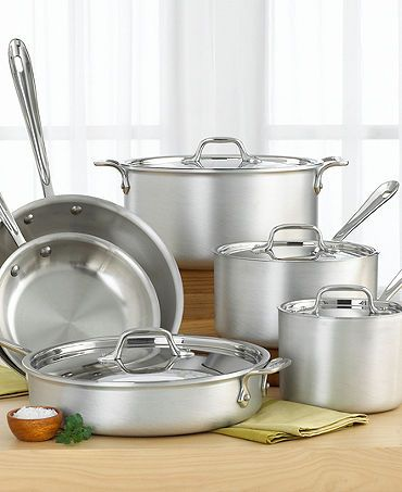 All Clad Pot And Pan Set Again We Need A Good Set Of Pans Non
