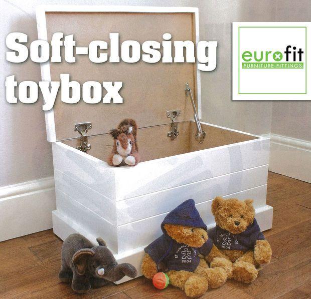 Soft White Kids Toy Chest Wood Box Bin Storage Organizer: How To Build A Toy Box