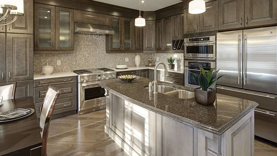 Mattamy Homes Inspiration Gallery: Kitchen - The Parkside Kitchen
