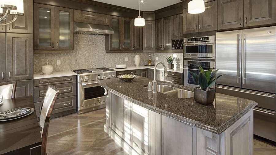 Mattamy Homes Inspiration Gallery Kitchen  The Parkside Kitchen Captivating New Model Kitchen Design Design Decoration