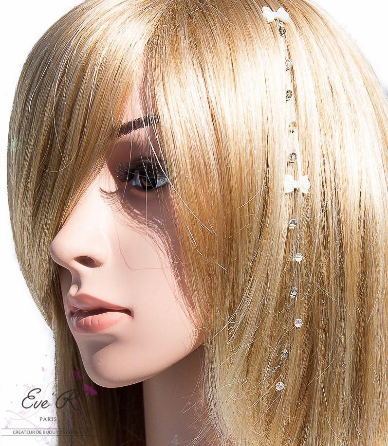 Bijoux pour cheveux courts Modèle Nola Greys Pendentif